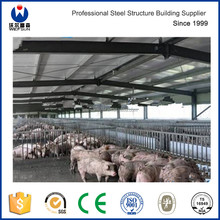 Cheap Steel Frame Structure Prefabricated Pig House in Kenya Africa