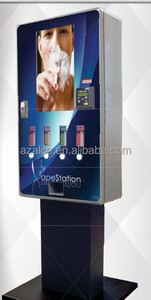 Instant wall mounted automatic cigarette/condom/tampon vending machine