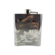 Amazon Hot Sale Customizable Pattern 6Oz Metal Liquor Flask Whisky Stainless steel Hip Flask