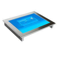 Embedded 15inch Touch Screen Industrial Panel PC With Dual-core Low-power Motherboard
