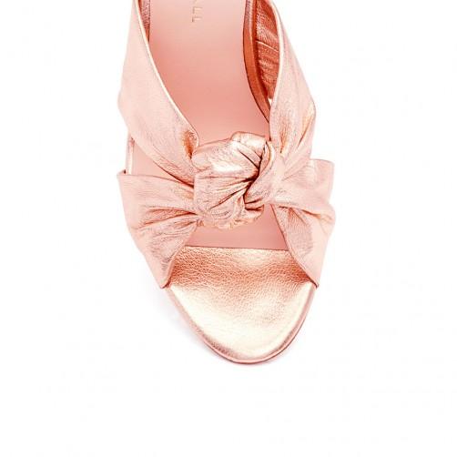 30cee0008ab2 Olux-35431 Fashion Women Pu Chuck Heel Slippers - Buy Women Slippers ...