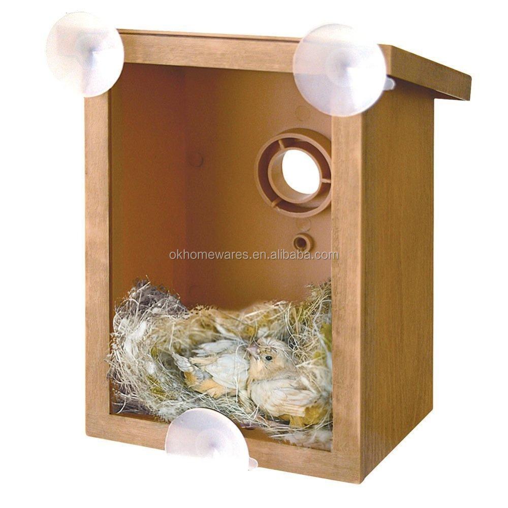 Window bird house - Window Birdhouse Birdhouse With Transparent Back Side Buy Window Birdhouse My Spy Birdhouse Plastic Birdhouse Kits Product On Alibaba Com