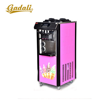 Hot Sale 3 flavor cheap ice cream makers, ice cream making equipment for sale