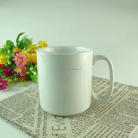 STOCK Wholesale cheap 18oz plain white ceramic coffee mug