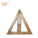 Small triangle fixed panel insulated glass window