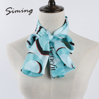 Best price of colorful pakistani plain georgette ladies scarves with logo
