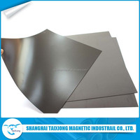Custom high quality thin and Flexible Magnetic Material Sheet