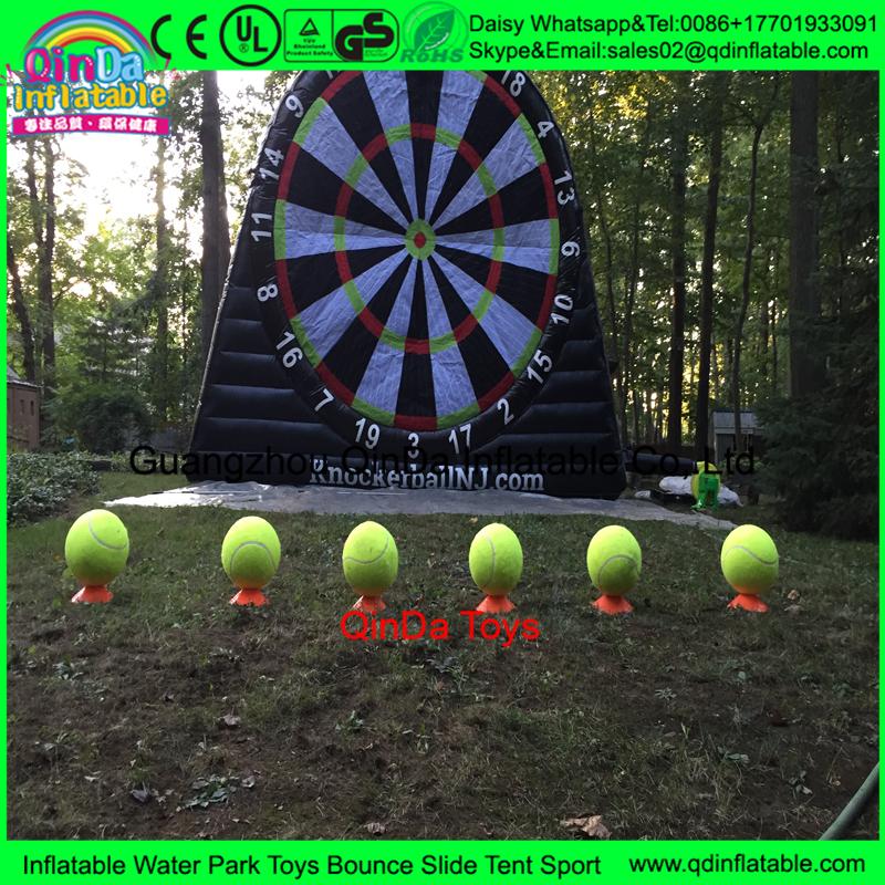 China Benutzerdefinierte Aufblasbare Dart Game Bouncy Fussball Darts Aufblasbare Bogenschiessen Tag Spiel Aufblasbare Fuss Darts Fur Verkauf