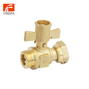 Lead brass pvc plastic ppr union chemical resistant water meter ball fittings valve price