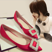 zm21683a European and American style 2016 new fashion women flat single shoes