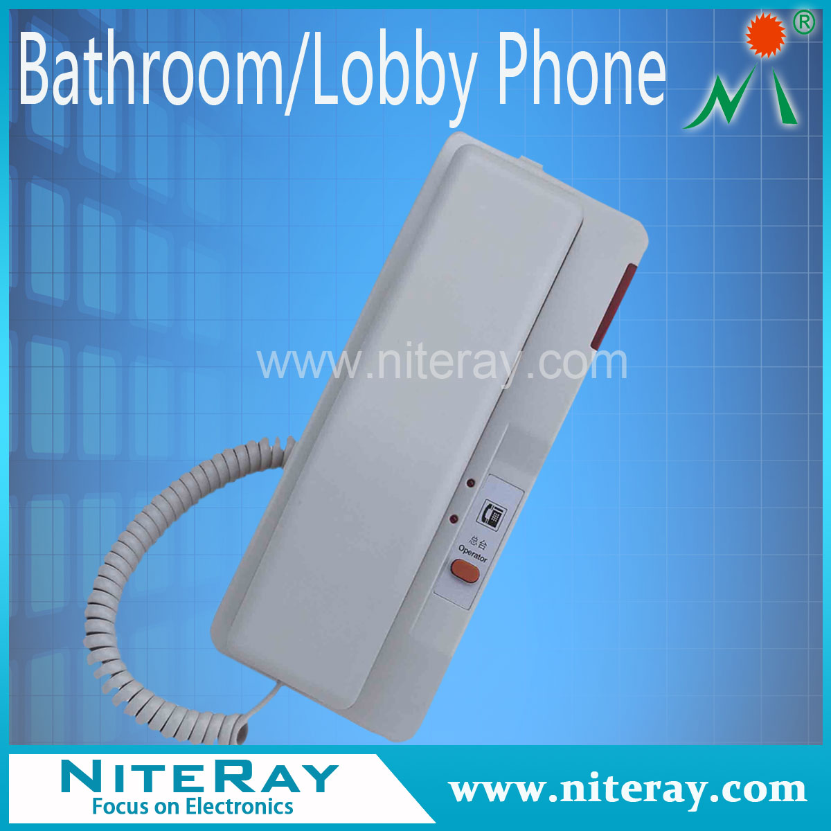 Mini analog telephone for home or hotel landline telephone hotel handset telephone