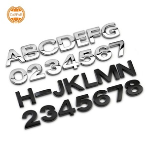 wholesale and hot sale Cheap Chrome Letters Stickers