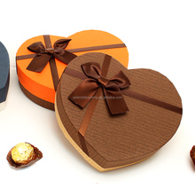 Custom Printed Heart Shape Packaging Box Paper Chocolate Box
