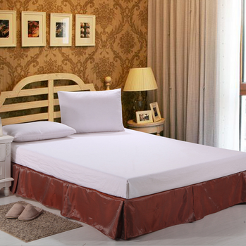 Twin Full Queen King Size Luxury Hotel Red Striped Bed