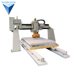 new arrival bridge type single-head artificial stone polisher with different tools made in cina