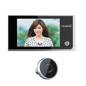 Good quality cheap price smart wireless electronic digital motion detection peephole camera viewer wholesale