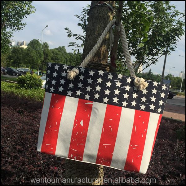 in stock Hot sale PATRIOTIC TOTE BAG