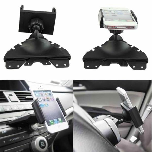 Universal Car Mount Holder CD Player Slot Cradle for