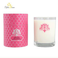 wholesale soy candle wax supplier/cheap aromatherapy candle