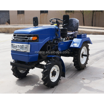 4 Wheel Driven Mini Garden Tractor Small Mower