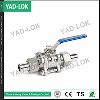 YAD-LOK Direct China Factory electric actuated needle valves SS316