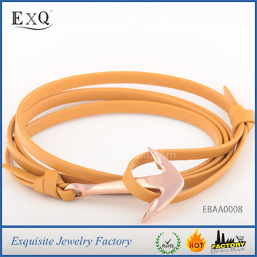 Fashion Man'S Axe Leather European Bracelet