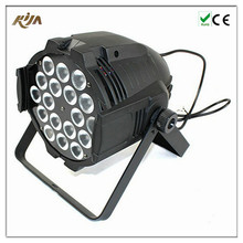 High quality and hot sale DJ club lighting led par light 18*10W LED stage light