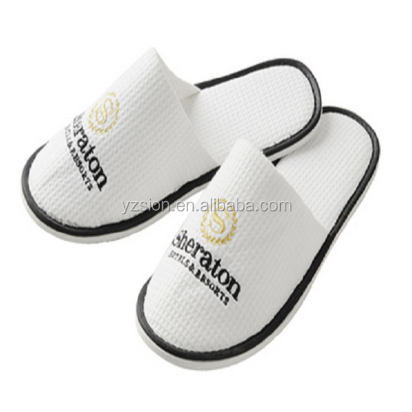 personalized hotel slippers with logo