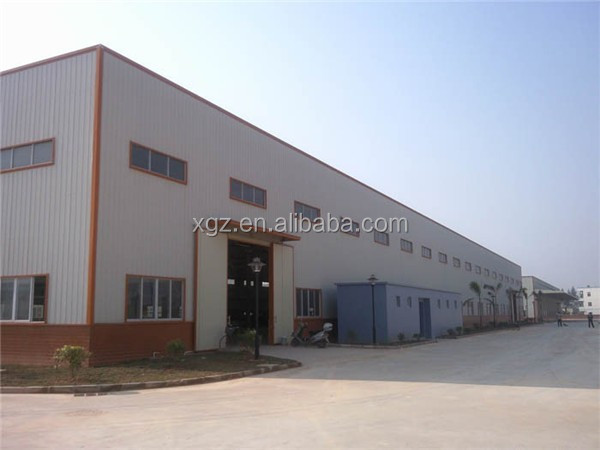 rigid large span steel roof trusses