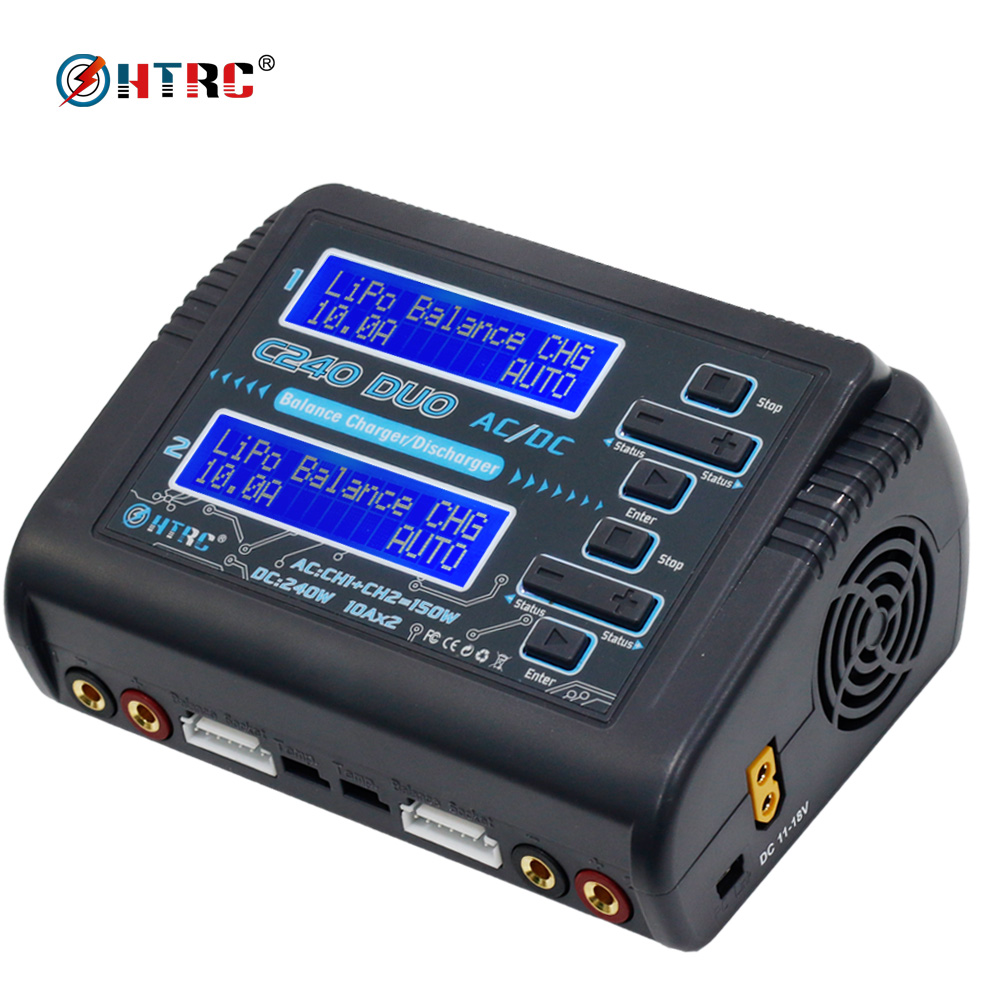 C240 DUO AC 150W DC 240W RC Lipo Balance charger