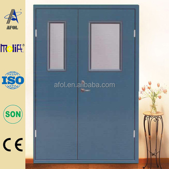 Zhejiang Afol Commercial Exterior Fire Rated Steel Doordouble Swing