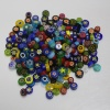 Handmade millefiori glass beads for decorating or DIY
