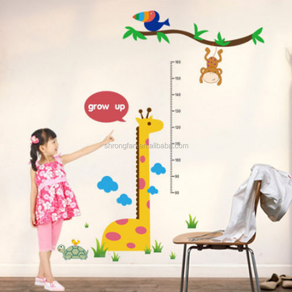 Kid measuring ruler kids growth chart height tower growth measure kid measuring ruler kids growth chart height tower growth measure childrens kids wall stickers buy kids wall stickerstower growth measurekid measuring amipublicfo Gallery