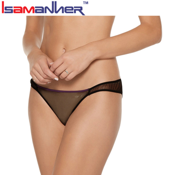 Tulle And Satin Underwear Womens Girls Wearing Transparent Panties ... 702d51fa6