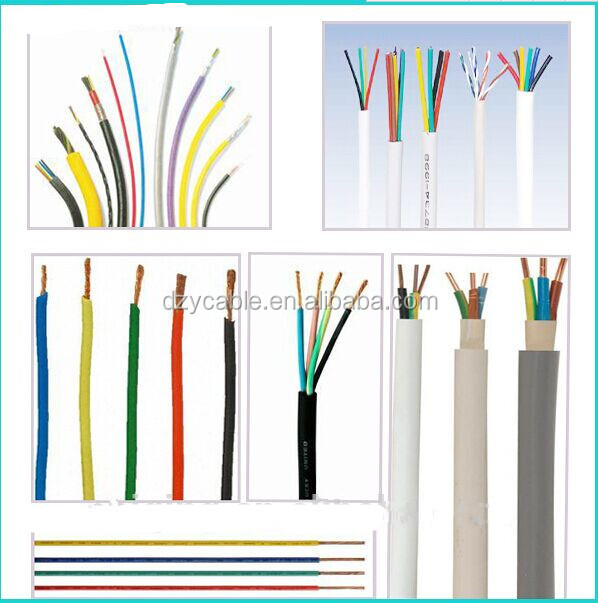 electric wire cable hs code1 5mm 2 5mm pvc insulated