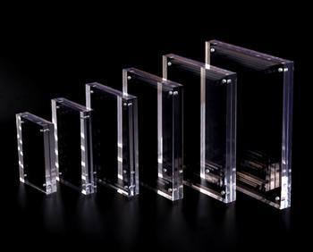 Plastic Acrylic 5x7 Magnetic Photo Frame Mini Magnet Frames Buy