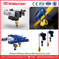 WEIHUA Micro European Steel Wire Rope Electric Hoist 1t 3t 5t 10t 15t 20t