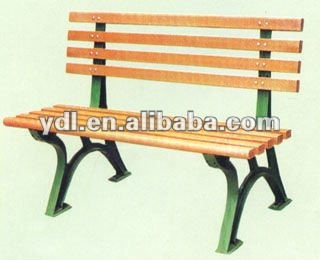 long wooden chair for rest