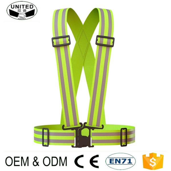 2017 elastic custom womens reflective running vest for sport