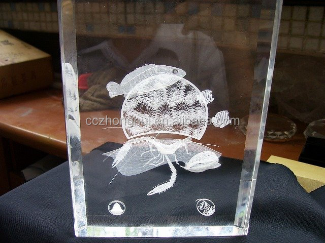 Mascot Theme and Block&Cube Product Type Crystal Islamic Plaque Gifts