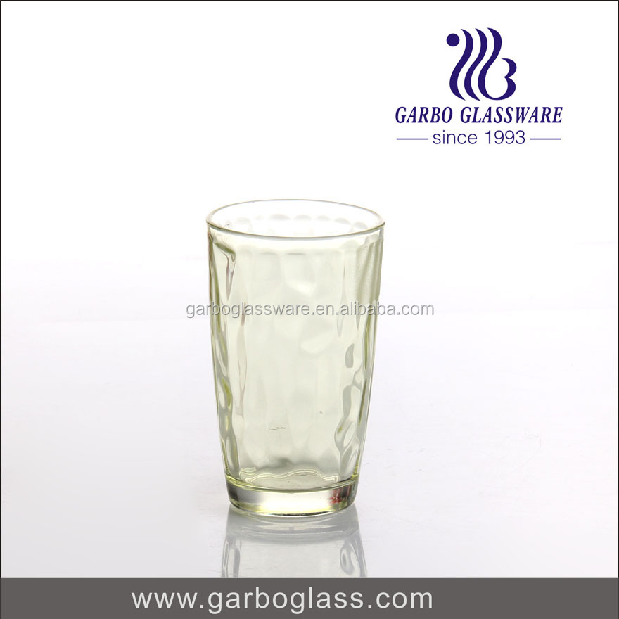 Popular tumbler glass 340ml water glasses wholesale