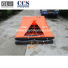 china manufacture solas approved 20 person self inflating floating life raft for sale