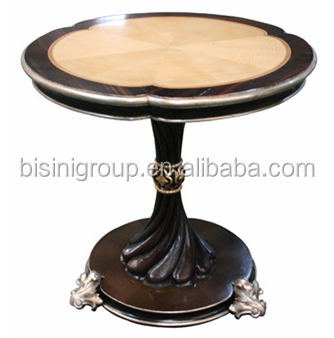 Replica French Style Classic Side Table For Living Room, Antique Carved  Wood Living Room Furniture