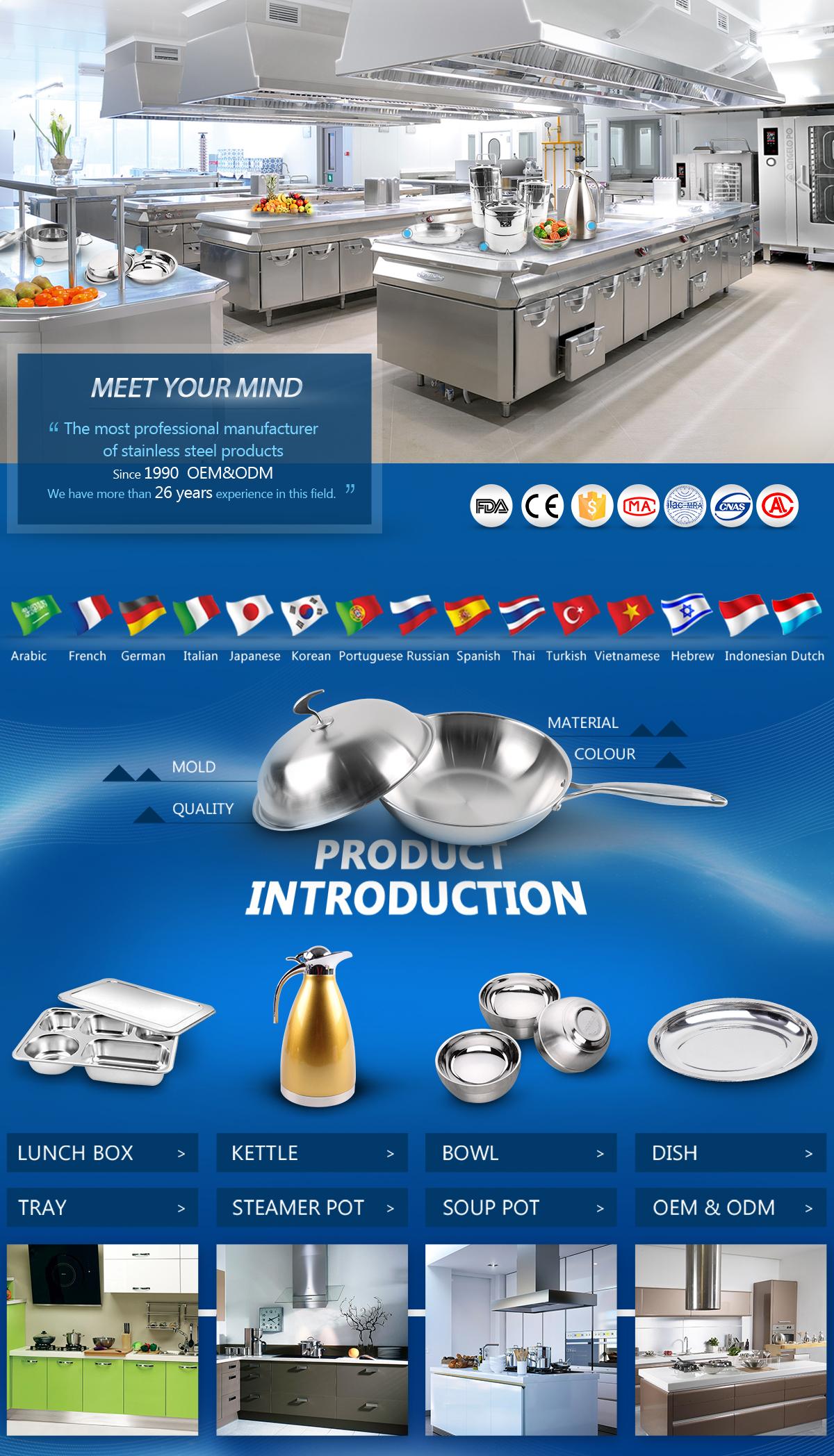 Chaozhou Caitang Lihong Hardware Equipment Factory - lunch box, bowl