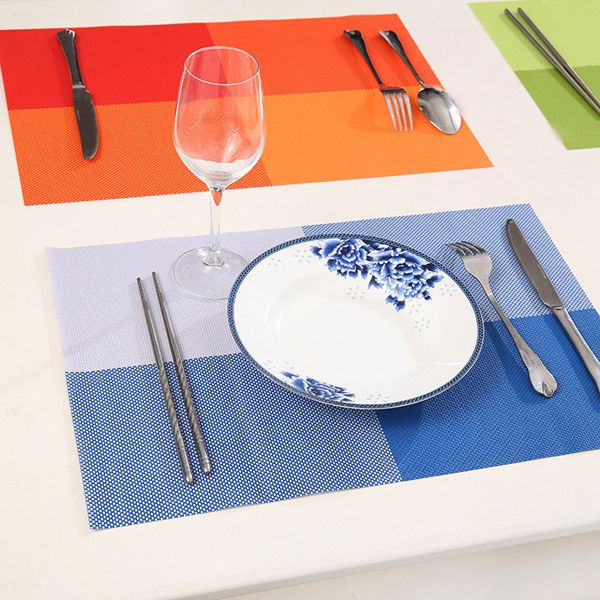 High quality eco friendly table mat laser cut PVC foam placemat