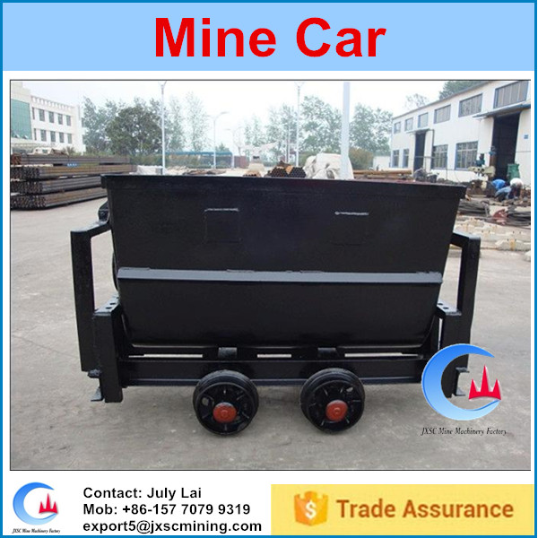 mining rail car for transport and storage