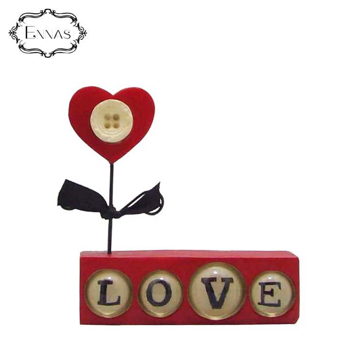 Beautiful and Creative Resin Craft Custom English Word Resin Wall Decor Resin Indoor Ornament