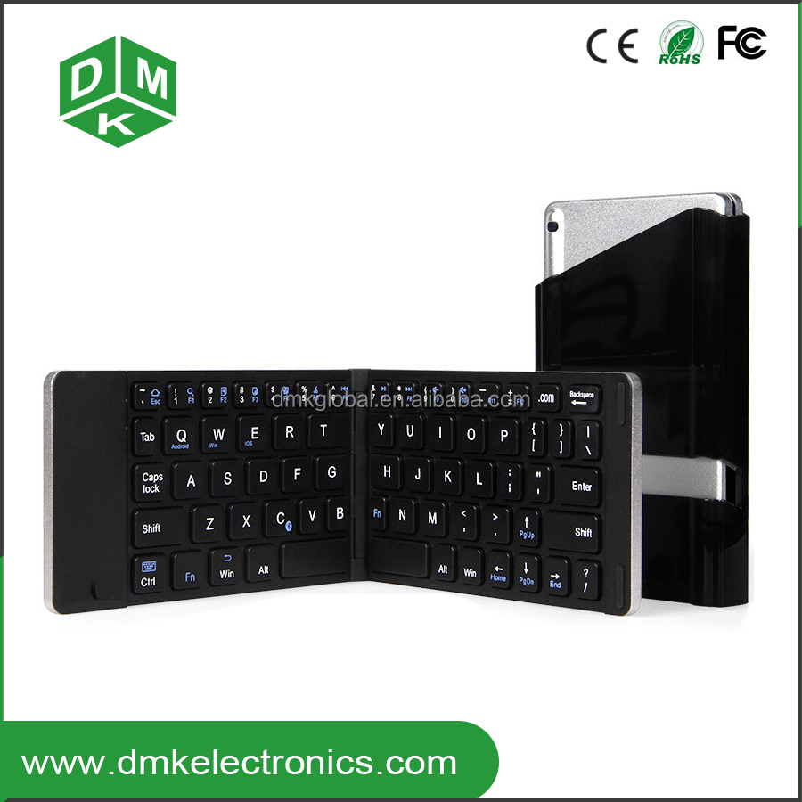 Foldable Bluetooth keyboard With Touchpad for