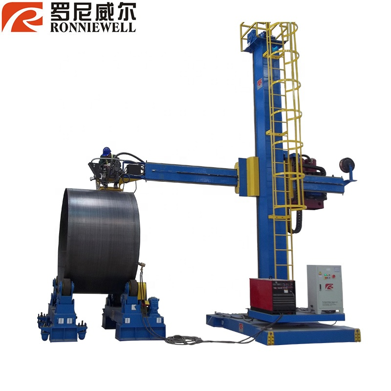 Column boom /automatic pipe welding manipulator machine