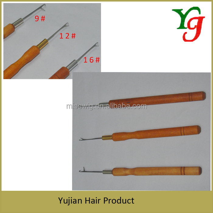 H-345B Hair Extension Tools Hair Extension Needle For Crochet Hair